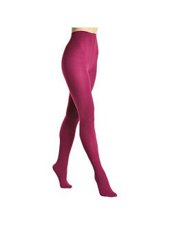 Angelina Women's Brushed Fleece Interior Thermal Fashion Tights