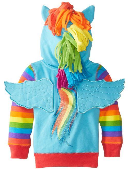 My Little Pony Toddler Girls Zip-up Hoodie