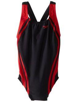 Big Girls' Youth Quantum Splice Swimsuit