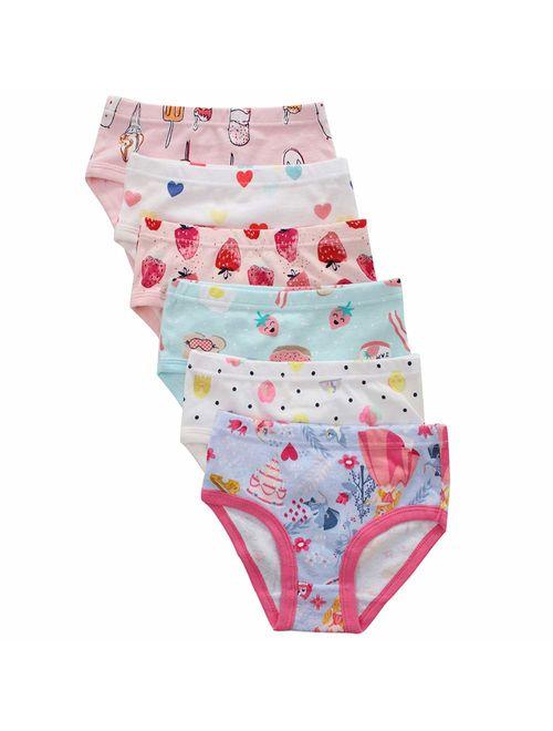 Pack benetia Girls Cotton Underwear 6