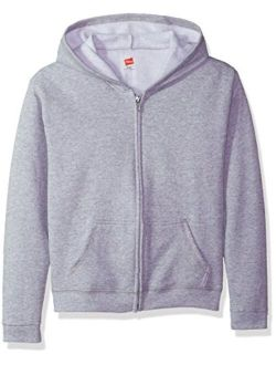 Big Girls' Comfortsoft Ecosmart Full-zip Fleece Hoodie