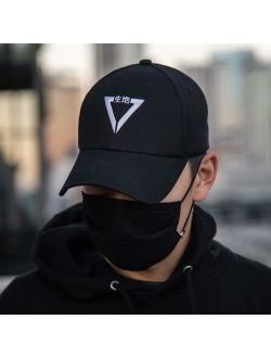 Fabric of the Universe Triangle Logo Techwear Japanese Streetwear Baseball Cap
