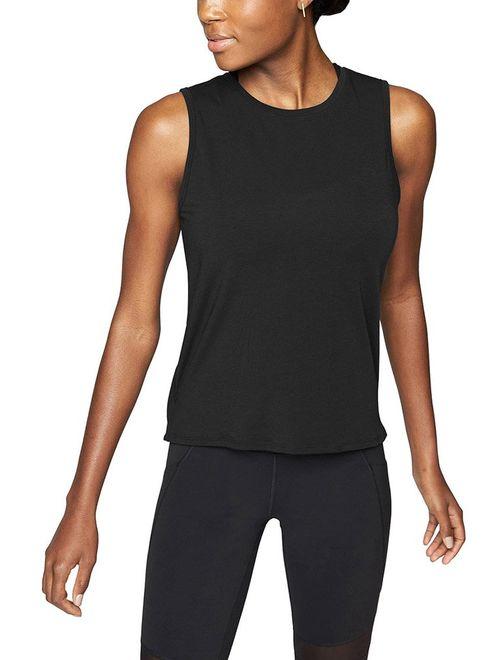 Mippo Womens Long Sleeve Workout Shirts Mesh Open Back Yoga Tops Thumb Hole T Shirt