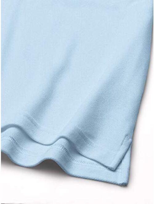 French Toast Boys' Long-Sleeve Pique Polo Shirt