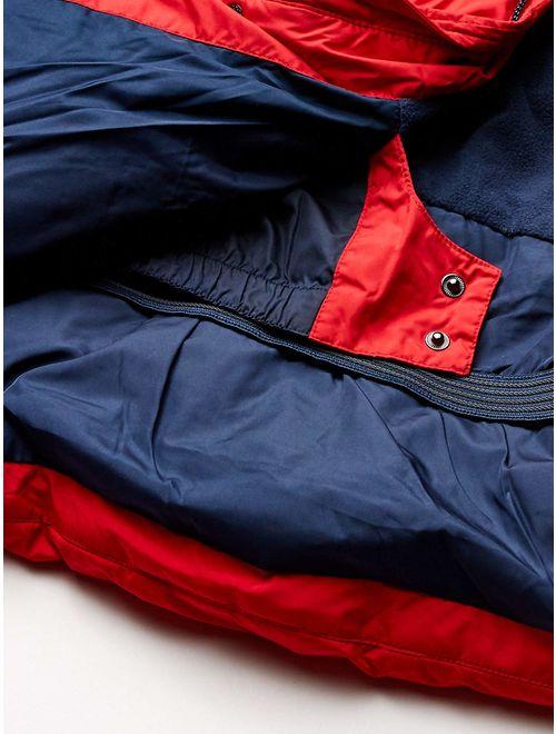 Amazon Essentials Boy's Heavy-Weight Hooded Puffer Coat