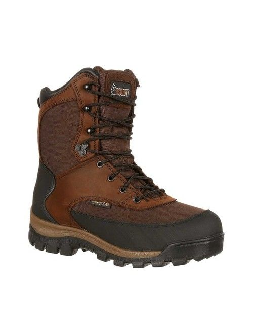 "Men's Rocky 8"" Core Insulated Outdoor Boot WP 4753"