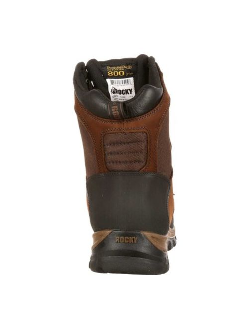 """Men's Rocky 8"""" Core Insulated Outdoor Boot WP 4753"""