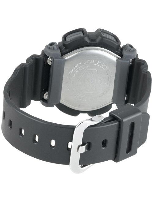 Casio Men's Digital Black and Grey Resin Strap G-Shock Watch DW9052-1V