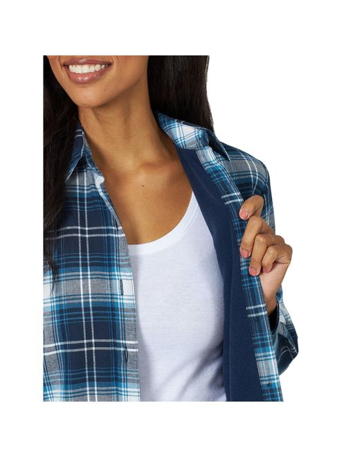 Lee Riders Women's Fleece Lined Flannel Shirt