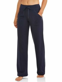 Women's Dri-more Core Athleisure Relaxed Fit Yoga Pants Available In Regular And Petite