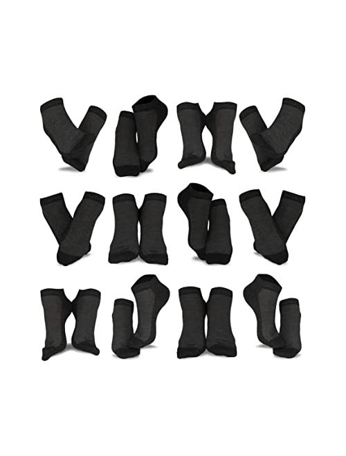 TeeHee Men's and Women's Fashion No Show/Low cut Fun Socks Great Value Pack