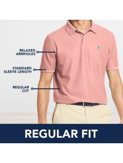 Men's Heritage Short Sleeve Solid Pique Polo