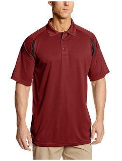 Men's Big And Tall Dri Power Short-sleeve Polo Shirt