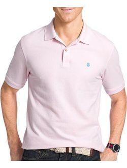 Men's Regular Fit Advantage Performance Short Sleeve Solid Polo