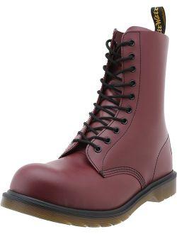 - 1919 Unisex Steel Toe Leather Boot
