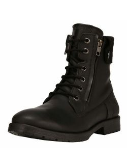 Liberty Men's Fashion Ankle Boots Genuine Leather Lace Up Closure 1 inch Heel Dress Boots