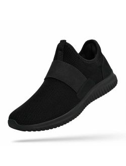 Mens Sneakers Slip On Balenciaga Look Tennis Shoes Knitted Breathable Running Walking Athletic Shoes