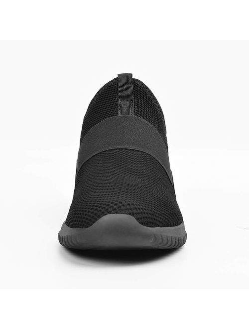 Troadlop Mens Sneakers Slip on Balenciaga Look Tennis Shoes Knitted Breathable Running Walking Athletic Shoes