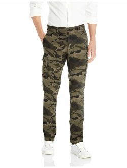 D - Goodthreads Men's Straight-fit Comfort Stretch Ripstop Cargo Pant