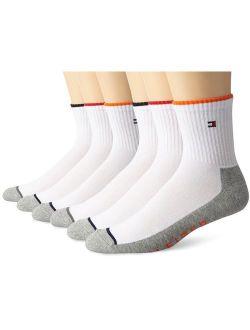 Men's 6 Pack Quarter Sock