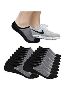 No Show Socks Ankle Low Cut Socks for Mens, Non Slip, 8 Pairs 16 Pairs