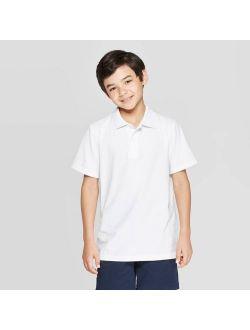 Orm Short Sleeve Jersey Polo Shirt - Cat & Jack™