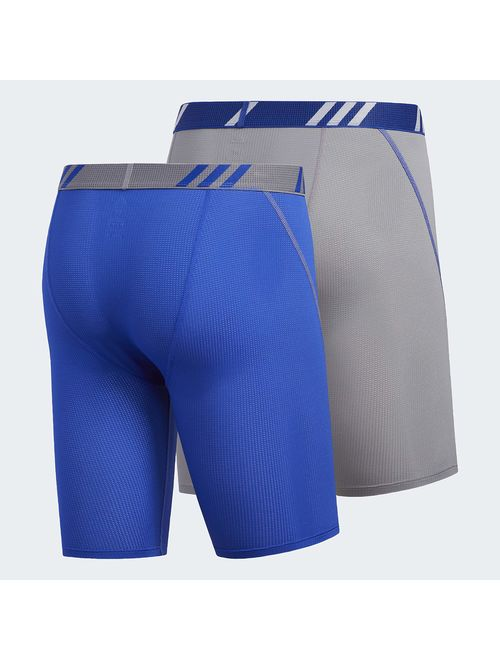 adidas Men's 9-Inch Sport Performance ClimaCool Midway Underwear (Pack of 2)