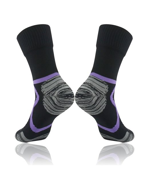 RANDY SUN Unisex Knee Length Breathable Skiing Trekking Sock 1 Pair 100/% Waterproof Hiking Socks, SGS Certified