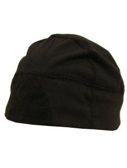 Urban Boundaries Moisture Wicking Thermal Black Running Winter Skull Cap/Beanie for Men