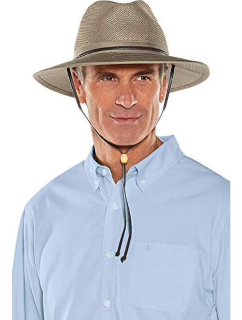 Coolibar UPF 50+ Men's Kaden Crushable Ventilated Hat - Sun Protective