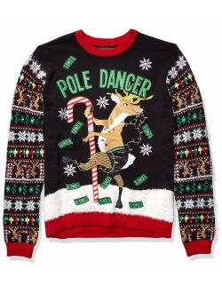 Men's Ugly Christmas Reindeer Sweater
