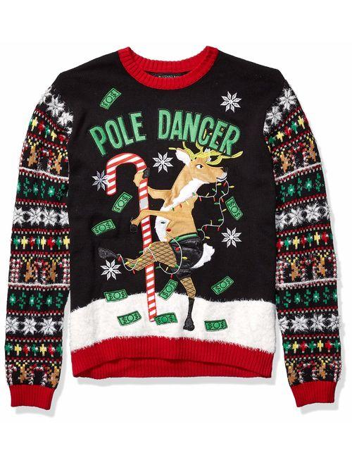 Blizzard Bay Men's Ugly Christmas Reindeer Sweater