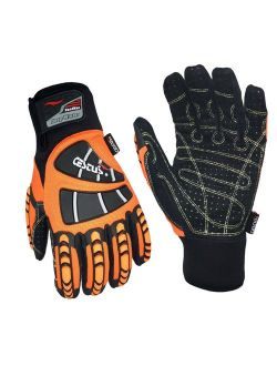 Cestus Temp Series HM Deep Winter Insulated Impact Glove, Work, Cut Resistant