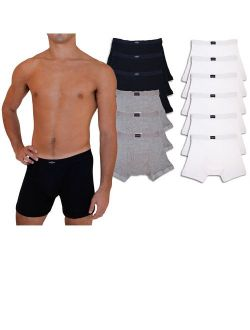 Big And Tall Men's 6 Pack Cotton Boxer Briefs