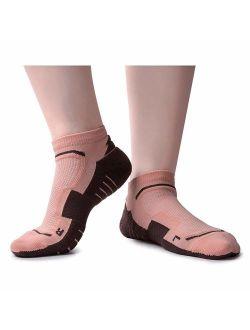 Unisex Performance Cushion Running Socks Anti-Blister Compression Athletic Socks