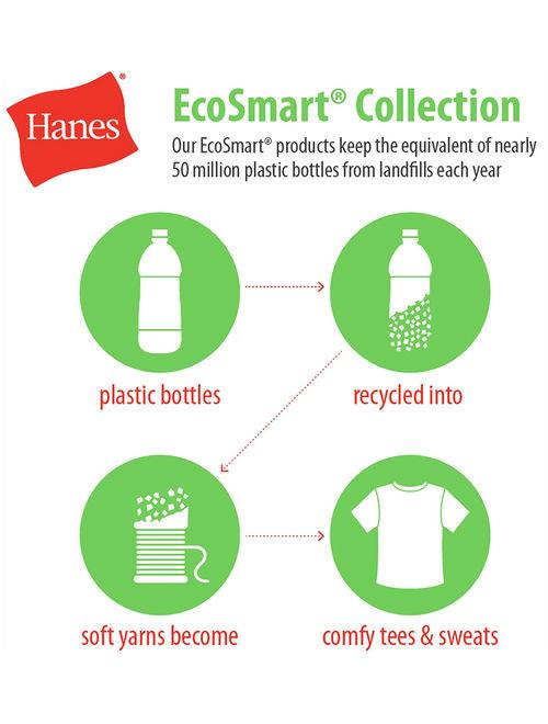 Hanes ComfortSoft Eco Smart Girls Crewneck Sweatshirt (Little Girls & Big Girls)