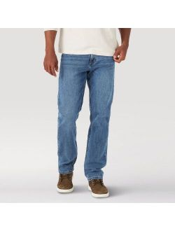 Men's Relaxed Fit Jeans With Flex