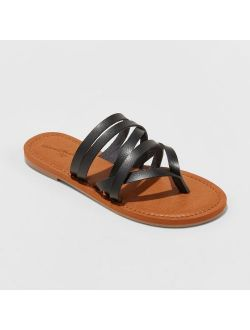 Multi Strap Toe Slide Sandals - Universal Thread™