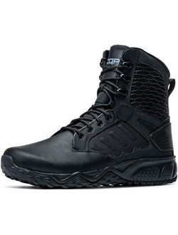 Men's Combat Military Tactical Mid-ankle Boots Edc Outdoor Assault