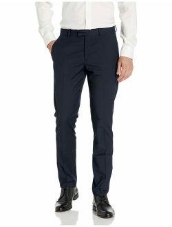 Portfolio Men's Very Slim Fit Flat Front Stretch Dress Pant