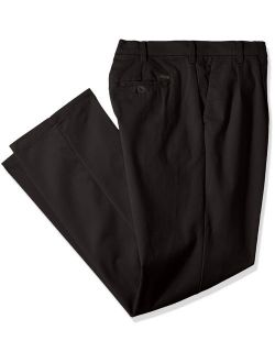Men's Big And Tall Performance Stretch Pleated Pant