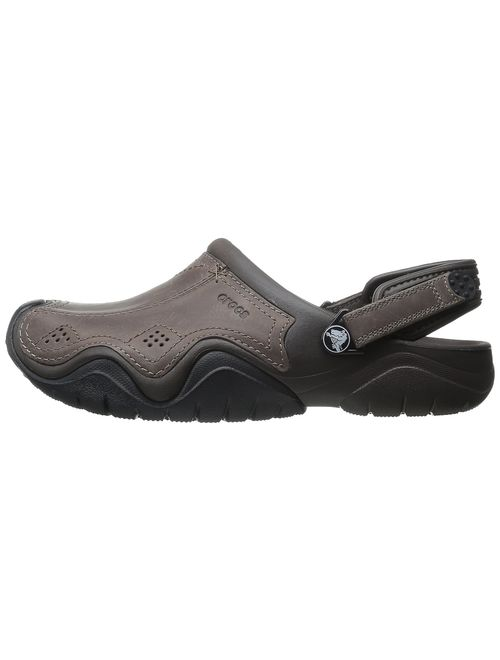 Crocs Men's Swiftwater Leather Clog
