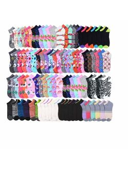 Bulk Socks Wholesale Case of Unisex Socks in Black,White and Grey, Available in 24-144 Packs in 4 different Styles