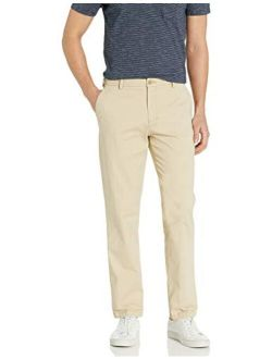 Men's Saltwater Stretch Flat Front Straight Fit Chino Pant