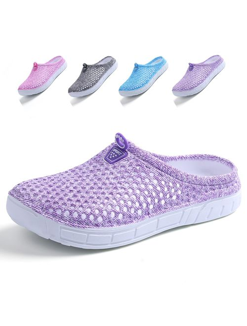 LIGHTEN Garden Clogs Shoes Womens Mens Mesh Quick Drying Slippers Beach Sandals