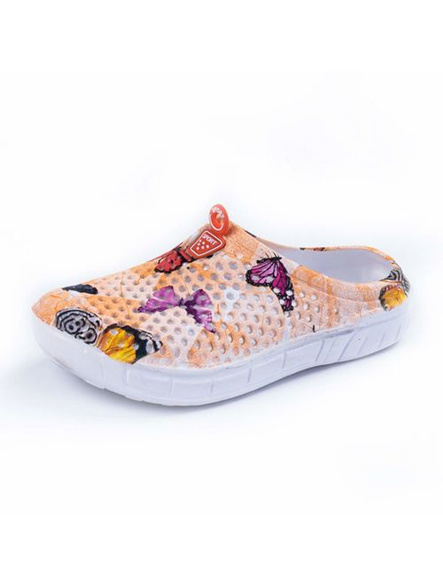 HMAIBO Garden Clogs Shoes Womens Mens Lightweight Breathable Mesh Sandals Quick Drying Beach Pool Water Shoes Anti-Slip Slippers Non-Slip Walking Footwear