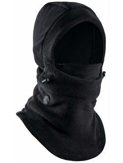 Balaclava Ski Mask - Extreme Cold Weather Face Mask - Heavyweight Fleece Hood Snow Gear for Men & Women