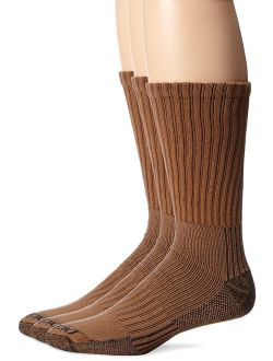 Men's 3 Pack Heavyweight Cushion Compression Work Crew Socks