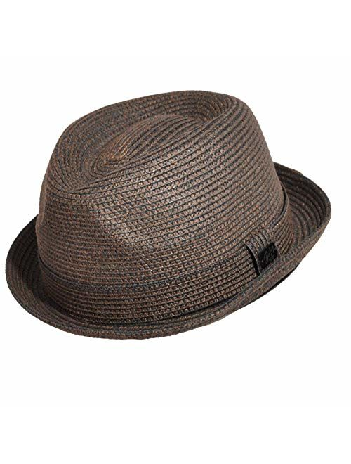 Bailey of Hollywood Men's Billy Fedora with Teardrop Crown