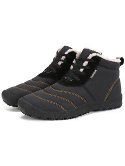 Dreamcity Men's Winter Snow Boots Waterproof Insulated Outdoor Shoes